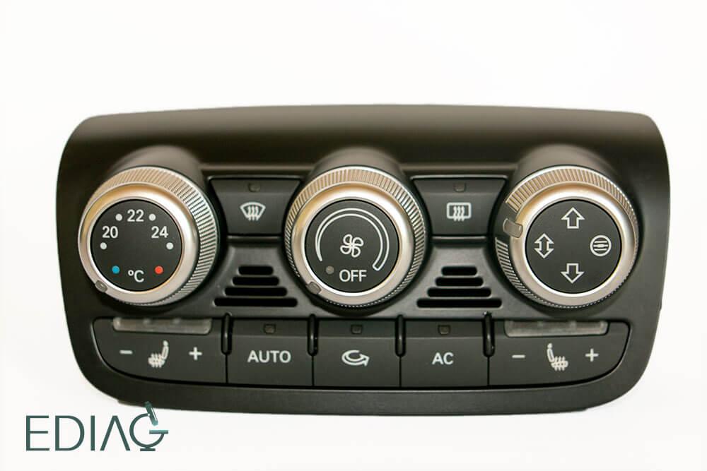 Audin ilmastointipaneelin korjaus
