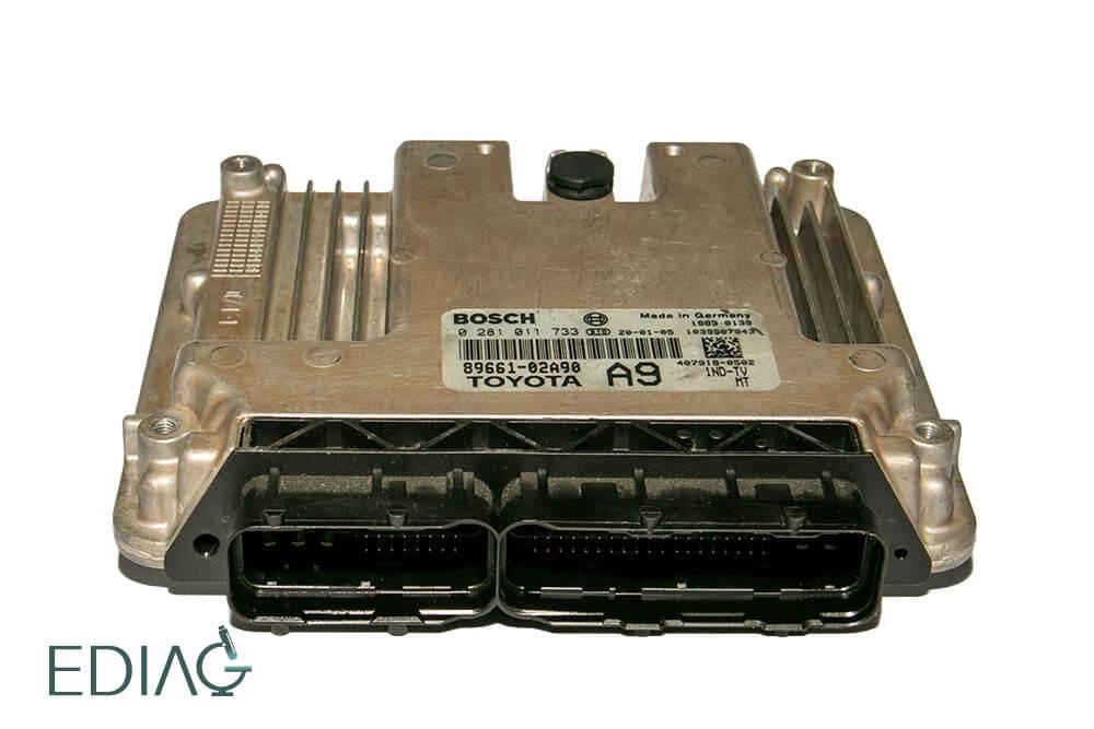 Bosch EDC16 ECU korjaus