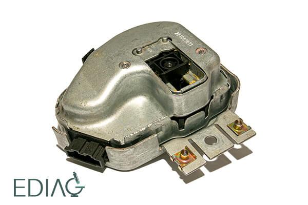 Audi A6 Q7 Rattilukon korjaus 00288 - Steering Column Lock Actuator (N360)