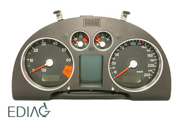 Audi TT mittariston korjaus
